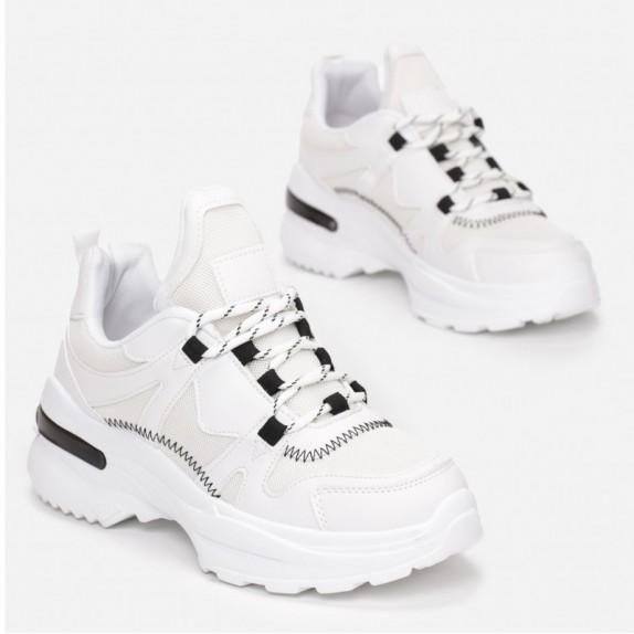 Sneakersy Taida białe