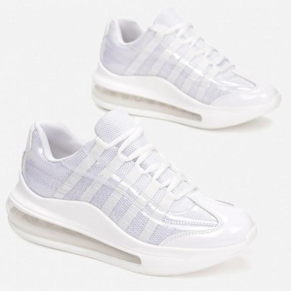 Sneakersy Bevi białe