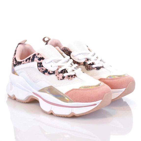 Sneakersy Casso różowe