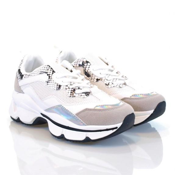 Sneakersy Casso białe