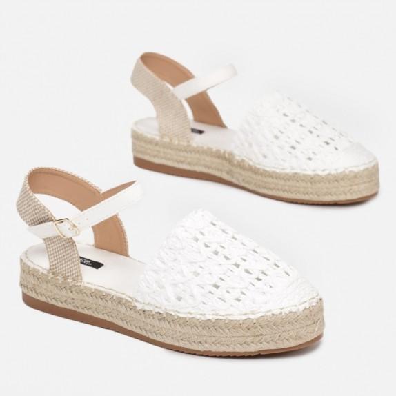 Sandały espadryle Lexy białe