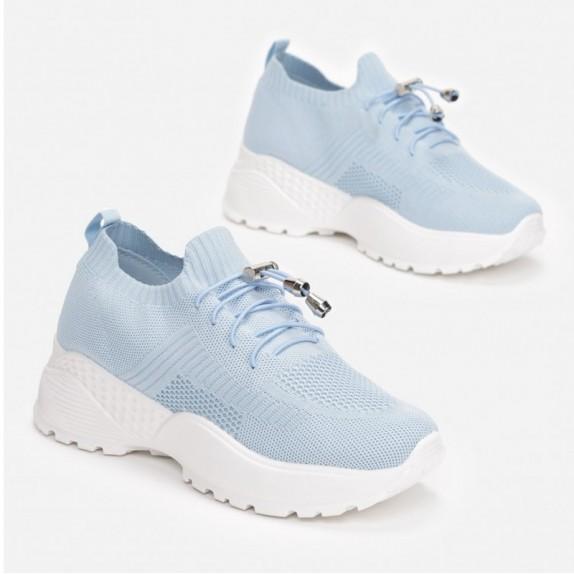 Sneakersy Kleo niebieskie