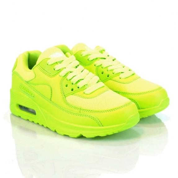 Sneakersy lekkie Remi seledynowe