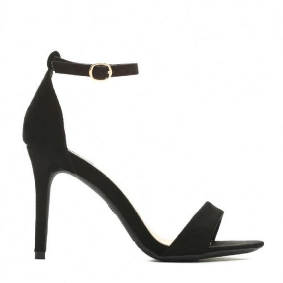 Sandały szpilki Naomi czarne