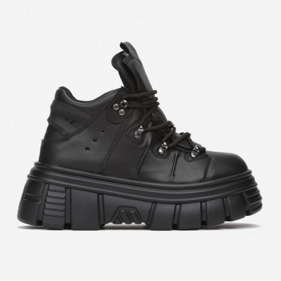 Sneakersy na platformie Nubi czarne
