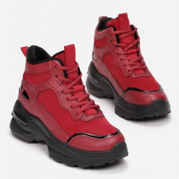 Sneakersy Lari czerwone