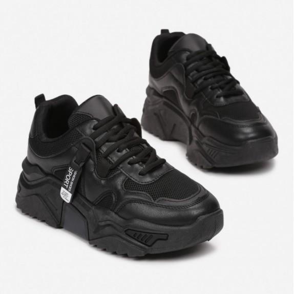 Sneakersy Berni czarne
