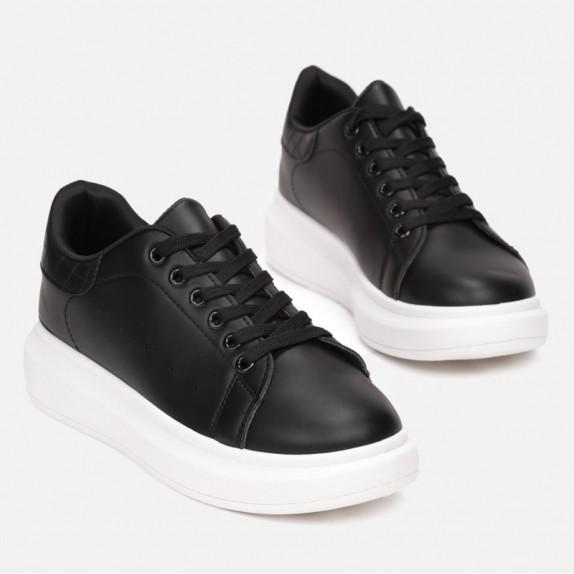 Sneakersy Rita czarno białe