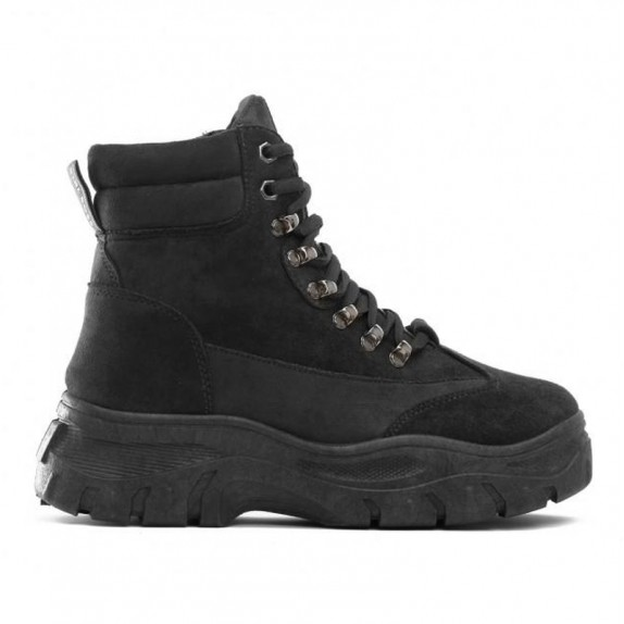 Sneakersy zamsz Edna czarne