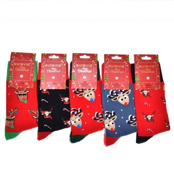Męskie skarpety świąteczne Dasher 5 par