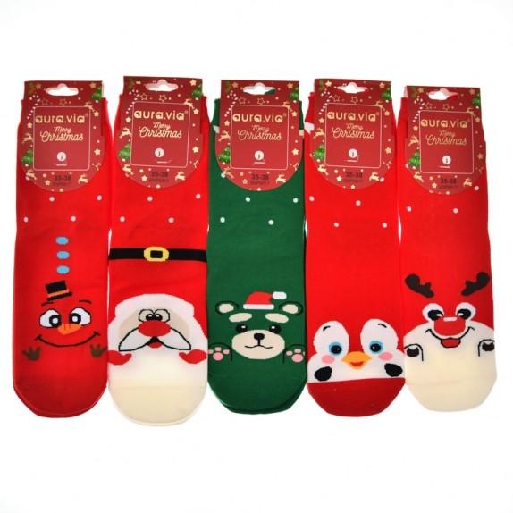 Damskie skarpety świąteczne Sparky 5 par
