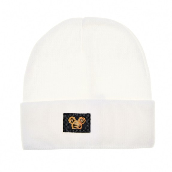 Ciepła czapka zimowa Minnie biała