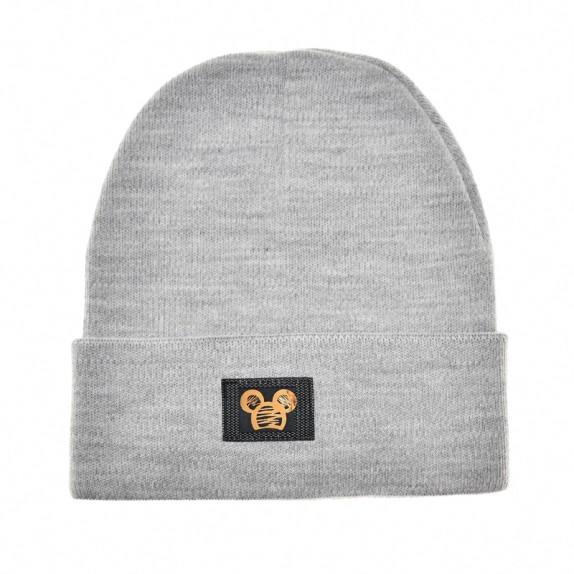 Ciepła czapka zimowa Minnie szara