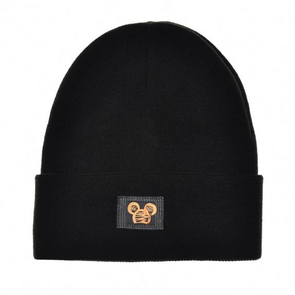 Ciepła czapka zimowa Minnie czarna