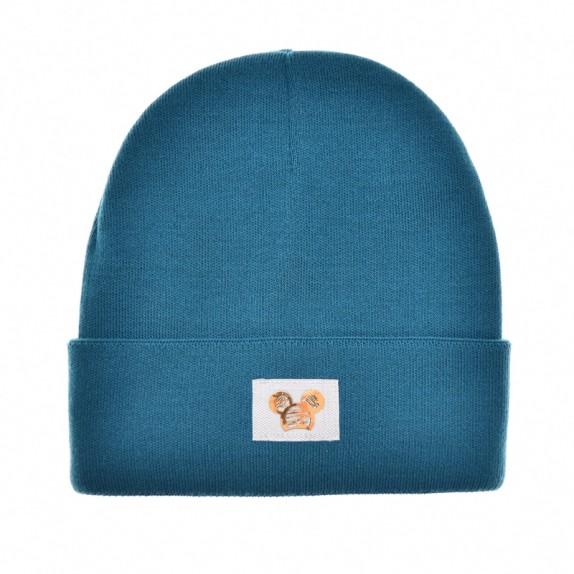 Ciepła czapka zimowa Minnie niebieska