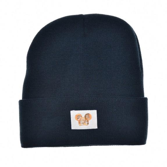 Ciepła czapka zimowa Minnie granatowe