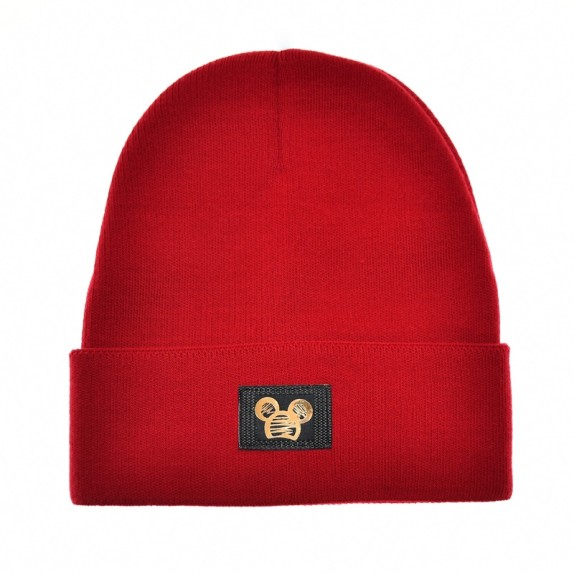 Ciepła czapka zimowa Minnie czerwona