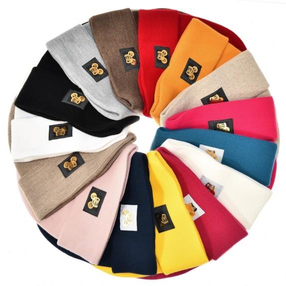 Ciepła czapka zimowa Minnie żółta