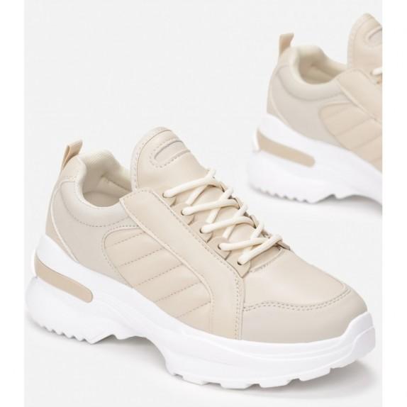 Sneakersy Loni beżowe