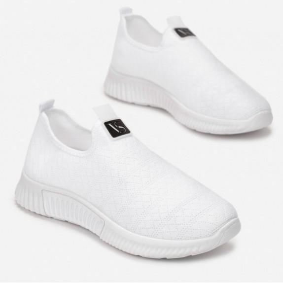 Adidasy siateczka Elza białe