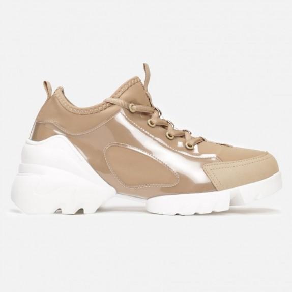 Sneakersy Diora beżowe