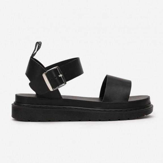 Sandały na platformie Oris czarne