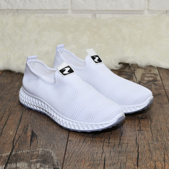 Adidasy siateczka Allie białe