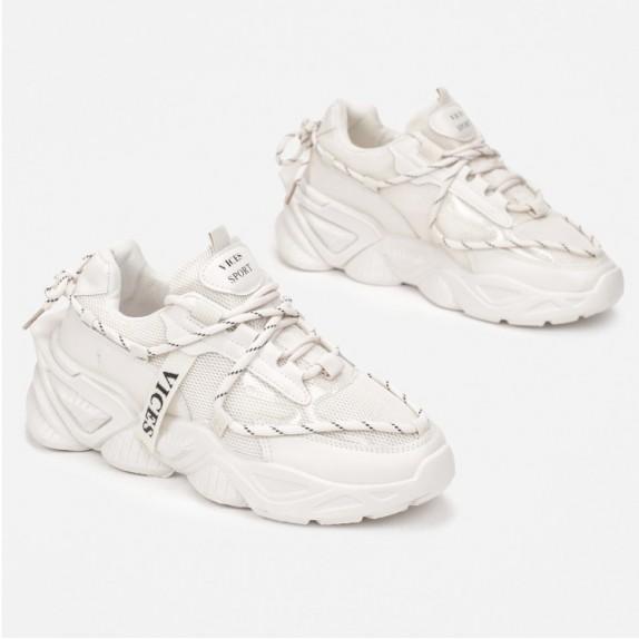 Sneakersy Carola beżowe