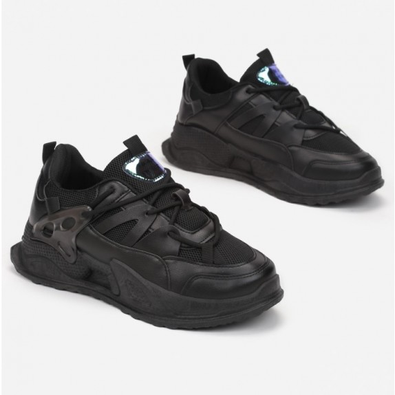 Sneakersy Abella czarne