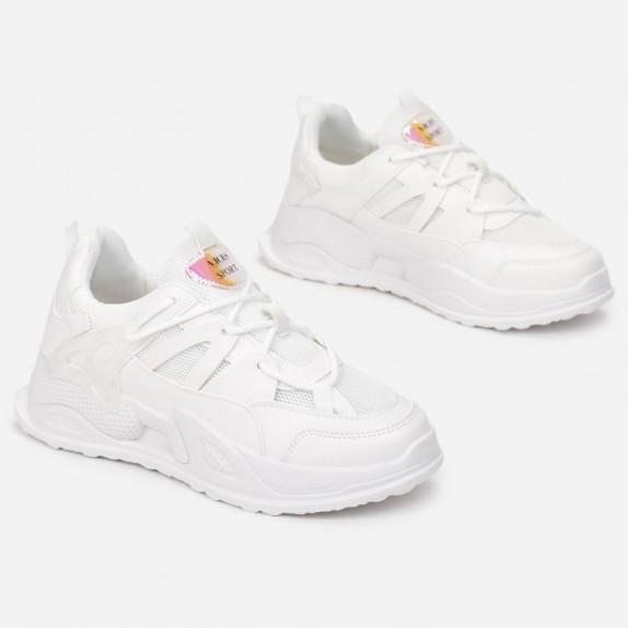 Sneakersy Abella białe