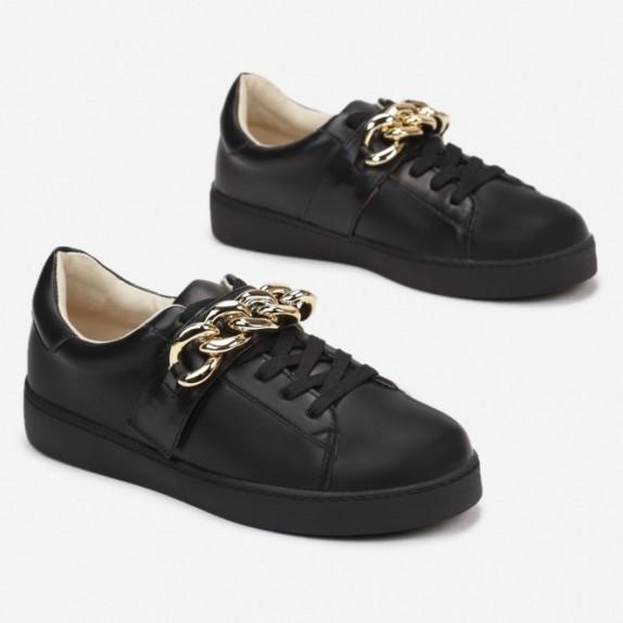 Sneakersy z łańcuchem Arely czarne