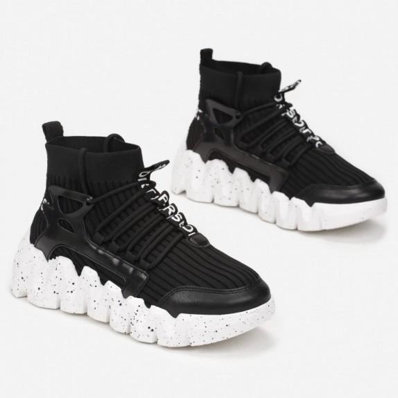 Sneakersy skarpetka Aitana czarne