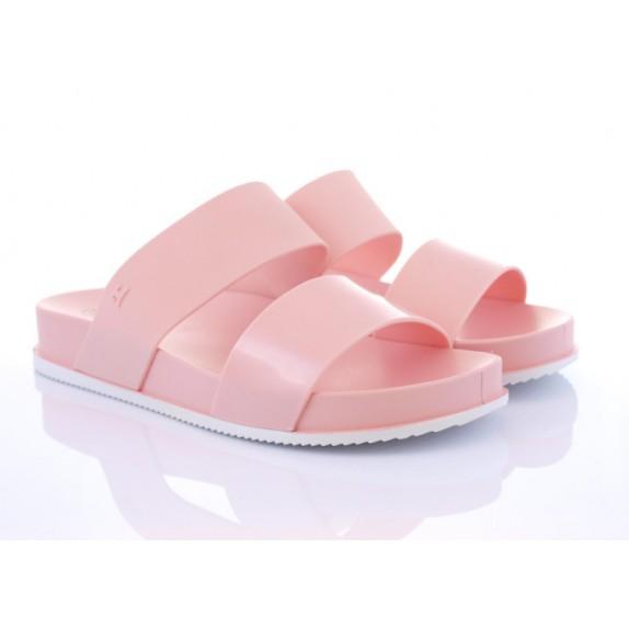 Klapki meliski gumowe Hannah różowe