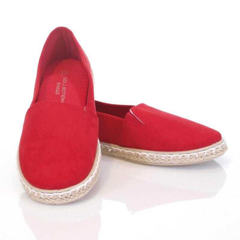 29c68e93 Espadryle baleriny Alice czerwone   sklep SOLUEL