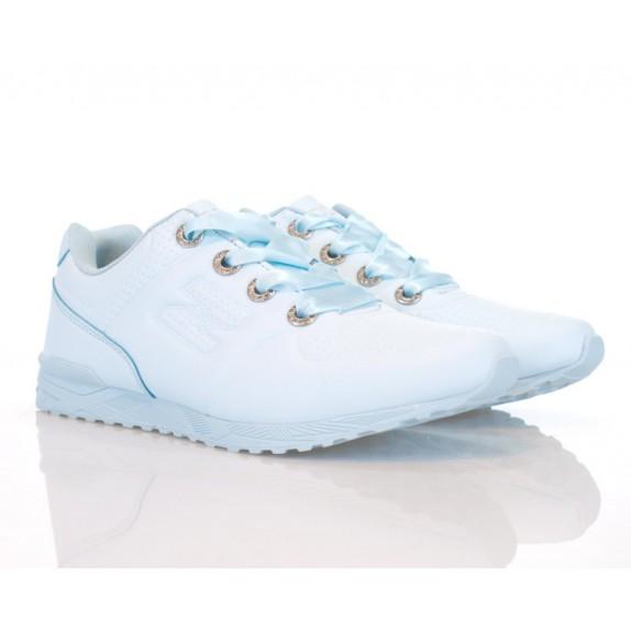 Buty sportowe wstążka Clarissa błękitne