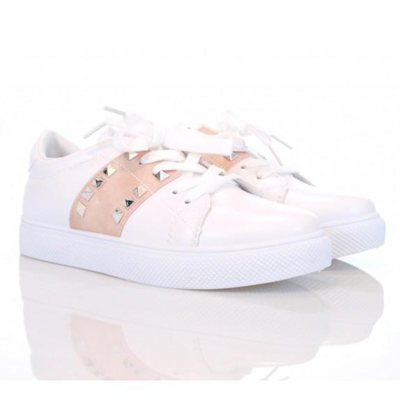 Buty sportowe ćwieki Cecilia białe