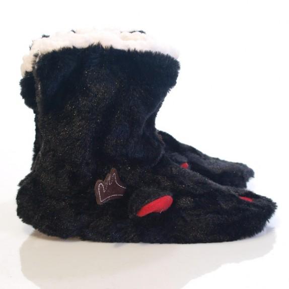 Kapcie bambosze Rudolf czarne