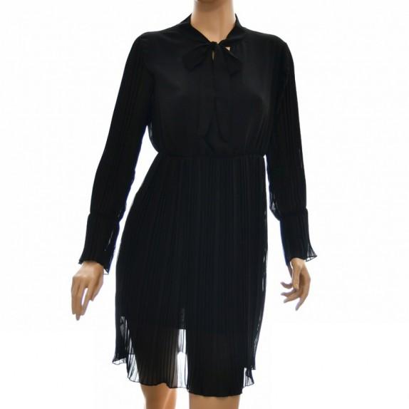 Sukienka plisowana Holly czarna