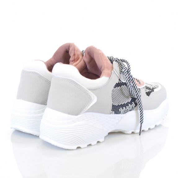 Sneakersy zamszowe Luisa szare