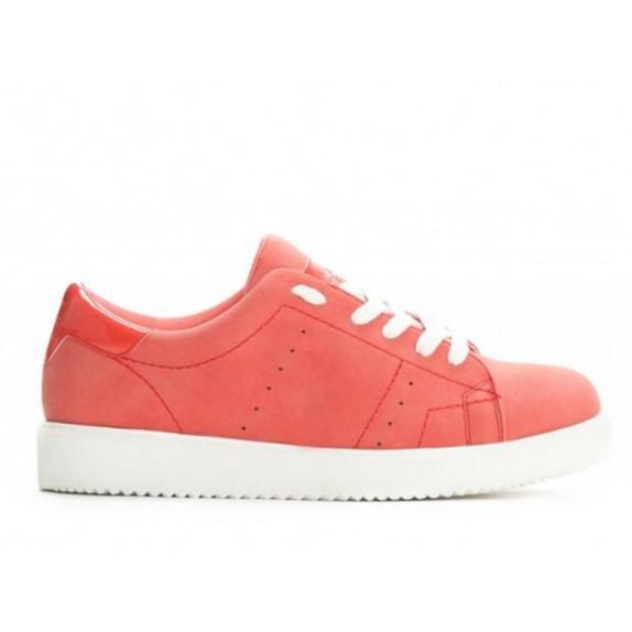 Trampki sneakersy Abbi czerwone