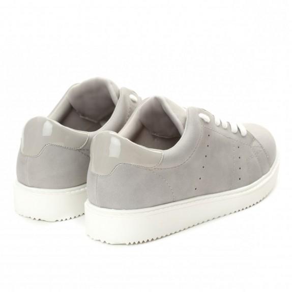Trampki sneakersy Abbi szare