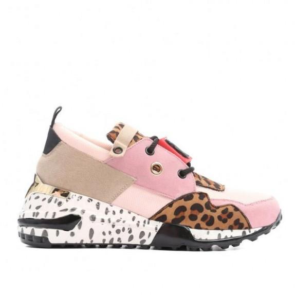 Sneakersy panterka Pili różowe