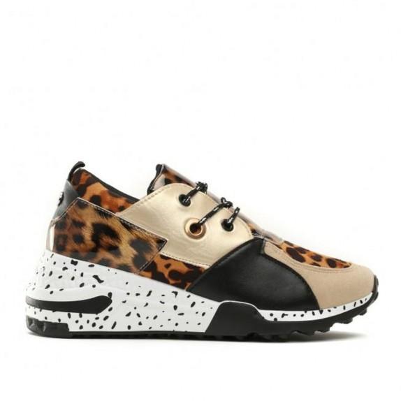 Sneakersy panterka Maddy złote
