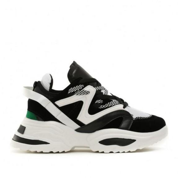 Sneakersy na platformie Robby czarno białe