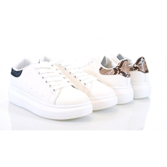 Sneakersy Jessy białe